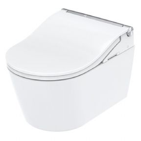 Toto CW Wall Hung Pan And Washlet White CW542EY+TCF801CG